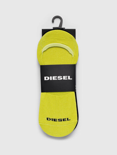 Diesel - SKM-NOSHOW-TWOPACK, Negro/Amarillo - Calcetines - Image 2