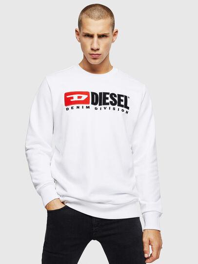 Diesel - S-GIR-DIVISION, Blanco - Sudaderas - Image 1