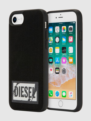 BLACK DENIM IPHONE 8/7/6S/6 CASE, Negro - Fundas