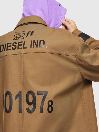 Diesel - J-ROBERT, Marrón - Chaquetas - Image 5