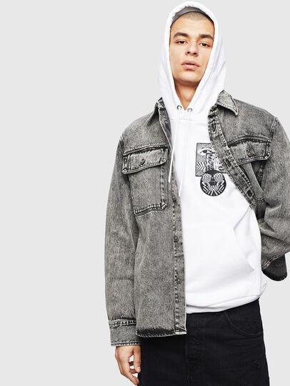 Diesel - S-JESSY-A, Negro - Camisas - Image 8