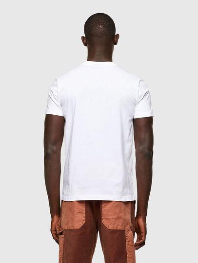 Diesel - T-DIEGOS-A2, Blanco - Camisetas - Image 2