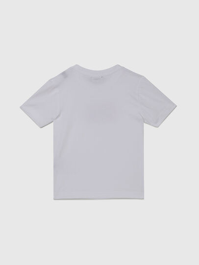 Diesel - TJUSTX62B-R, Blanco - Camisetas y Tops - Image 2