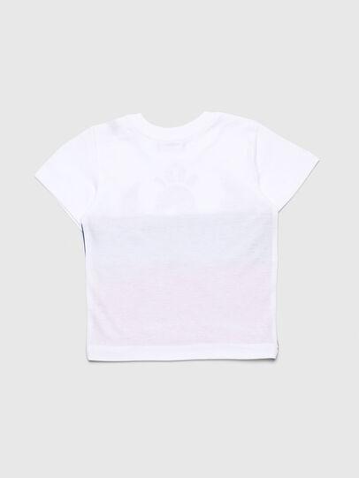 Diesel - TRICKYB, Blanco/Rojo/Azul - Camisetas y Tops - Image 2