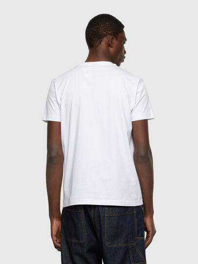 Diesel - T-DIEGOS-A11, Blanco - Camisetas - Image 2