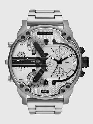 79d81326857c Reloj cronógrafo en acero inoxidable