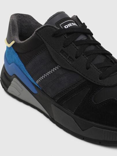 Diesel - S-BRENTHA FLOW, Negro/Azul - Sneakers - Image 4