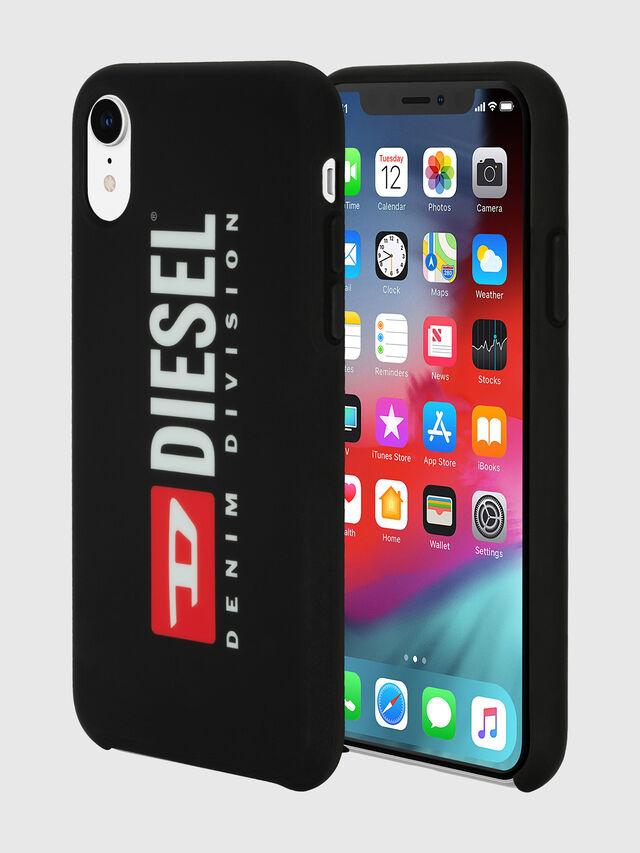 Diesel - DIESEL PRINTED CO-MOLD CASE FOR IPHONE XR, Negro/Blanco - Fundas - Image 1