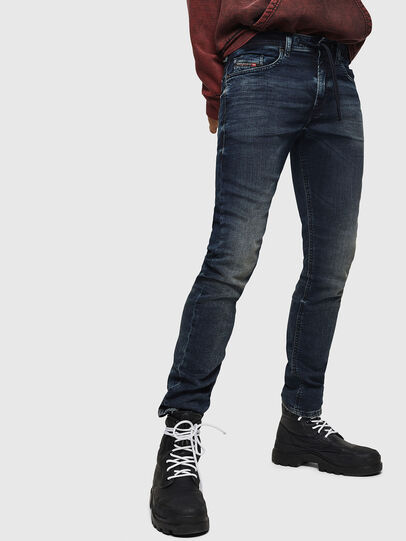 Diesel - Thommer JoggJeans 069GD, Azul Oscuro - Vaqueros - Image 1