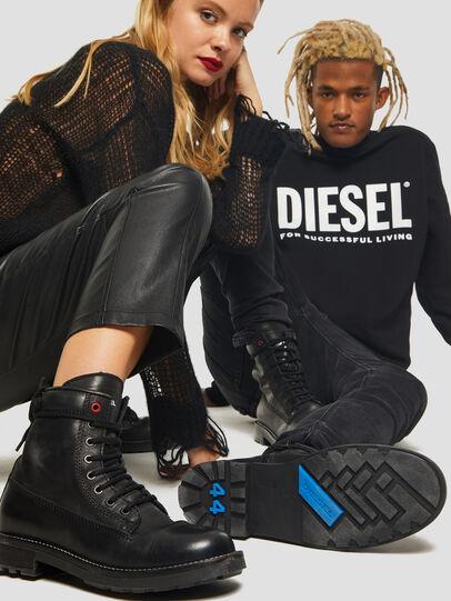 Diesel - D-THROUPER DBB Z, Negro - Botas - Image 6