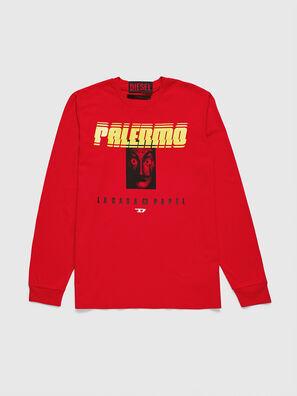 LCP-T-JUST-LS-PALERM, Rojo - Camisetas