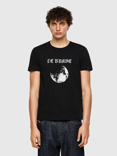 Diesel - T-INY-B1, Negro - Camisetas - Image 1