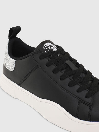 Diesel - S-CLEVER LOW LACE W, Negro/Plata - Sneakers - Image 4