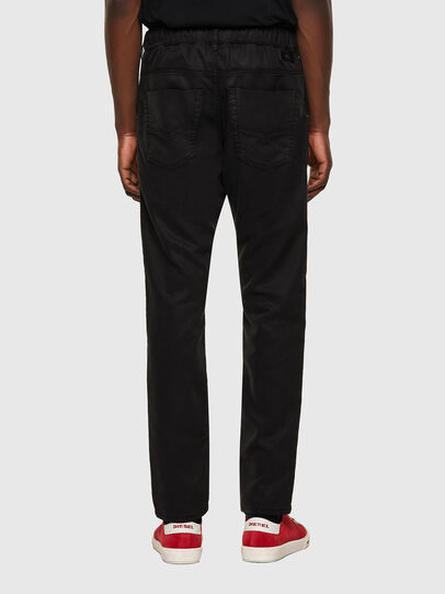 Diesel - Krooley JoggJeans® 069NC, Negro/Gris oscuro - Vaqueros - Image 2