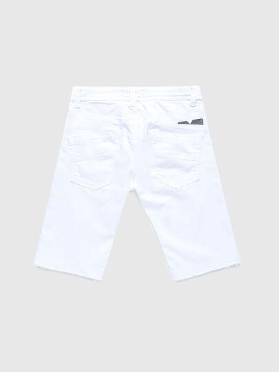 Diesel - DARRON-R-J SH-N JOGGJEANS, Blanco - Shorts - Image 2