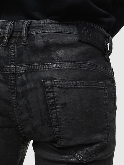 Diesel - Thommer JoggJeans 084AI, Negro/Gris oscuro - Vaqueros - Image 4