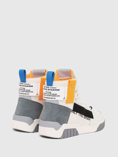 Diesel - S-RUA MID SP, Blanco - Sneakers - Image 3