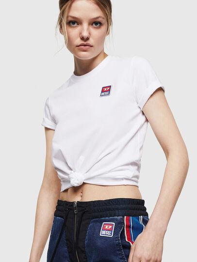 Diesel - T-SILY-ZE, Blanco - Camisetas - Image 4