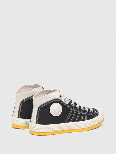 Diesel - S-YUK MC W, Negro/Amarillo - Sneakers - Image 3
