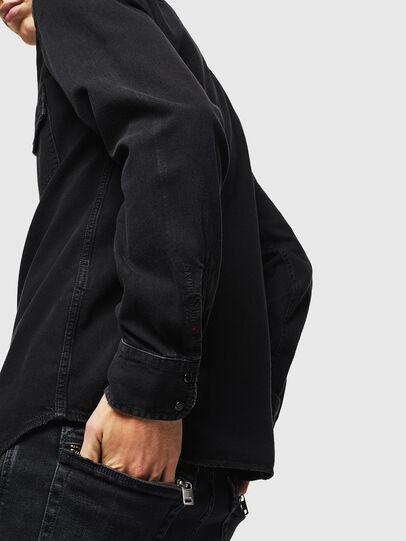 Diesel - D-EAST-P, Negro - Camisas de Denim - Image 5
