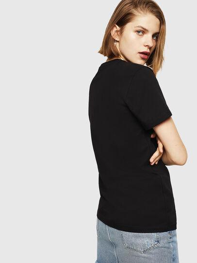 Diesel - T-FOIL, Negro - Camisetas - Image 2