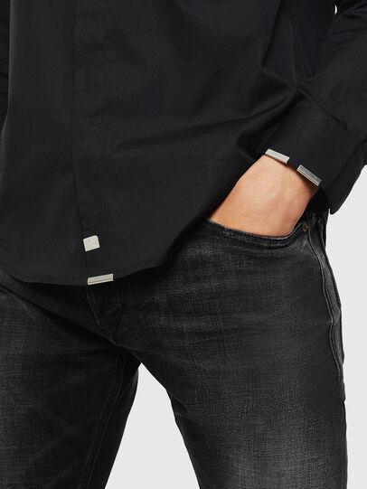Diesel - S-MARLENE, Negro - Camisas - Image 4
