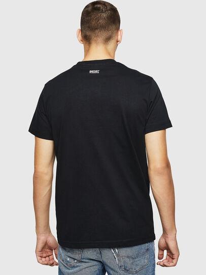 Diesel - T-DIEGO-B12, Negro - Camisetas - Image 2