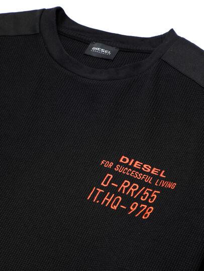 Diesel - UMLT-WILLY-W, Negro - Sudaderas - Image 3