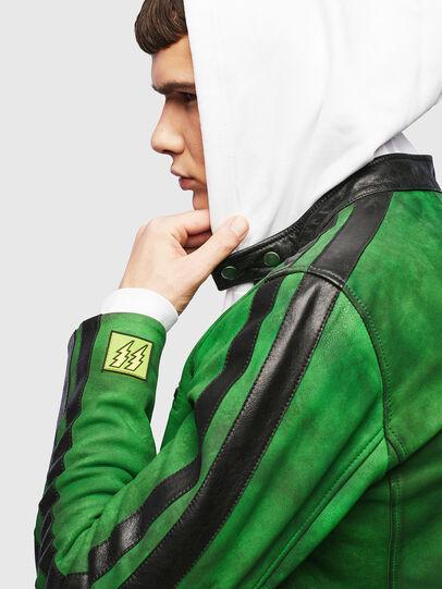 Diesel - L-BOY-A, Verde - Chaquetas de piel - Image 3