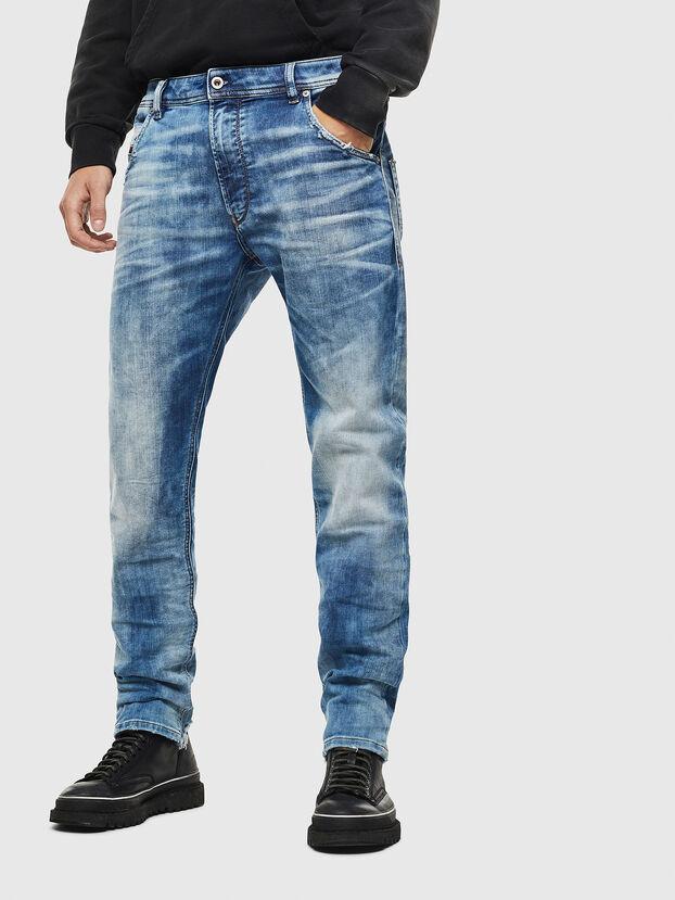 Krooley JoggJeans 087AC, Azul medio - Vaqueros