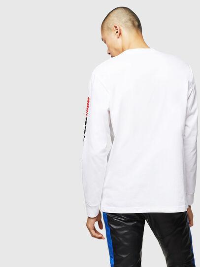 Diesel - ASTARS-T-JUST-LONG, Blanco - Camisetas - Image 2