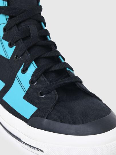 Diesel - S-ASTICO MID CUT, Negro/Azul marino - Sneakers - Image 6