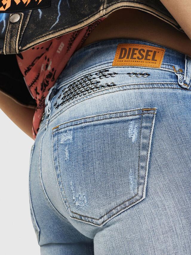 Diesel - D-Ramy 081AJ, Azul Claro - Vaqueros - Image 5