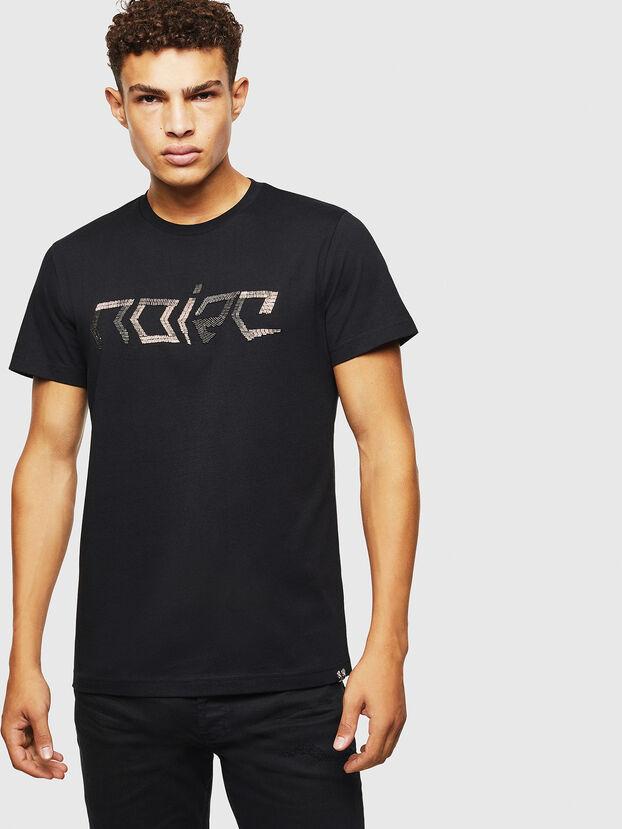 T-DIEGO-BAGH, Negro - Camisetas