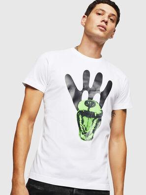 T-DIEGO-B18, Blanco - Camisetas