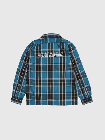 Diesel - CTAKESHI, Azul/Negro - Camisas - Image 2