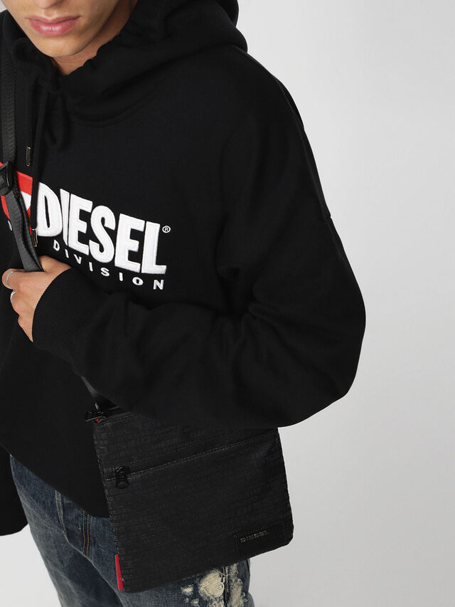 Diesel - F-DISCOVER CROSS, Negro - Bolso cruzados - Image 4