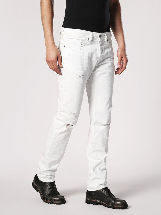 BUSTER 0680K, White Jeans