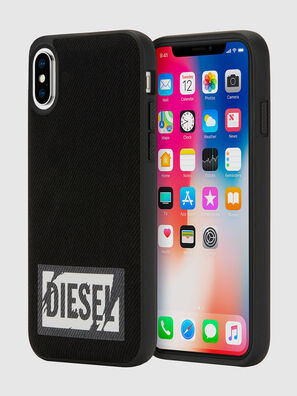 BLACK DENIM IPHONE X CASE,  - Fundas