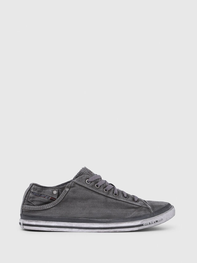 Diesel - EXPOSURE LOW I, Gris Metal - Sneakers - Image 1