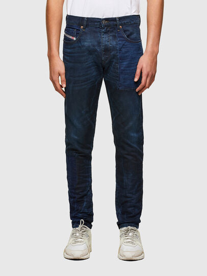 Diesel - D-Strukt JoggJeans® 069TY, Azul Oscuro - Vaqueros - Image 1