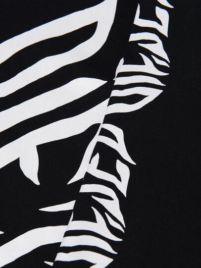 Diesel - TJUSTLSJ2 OVER, Negro - Camisetas y Tops - Image 3