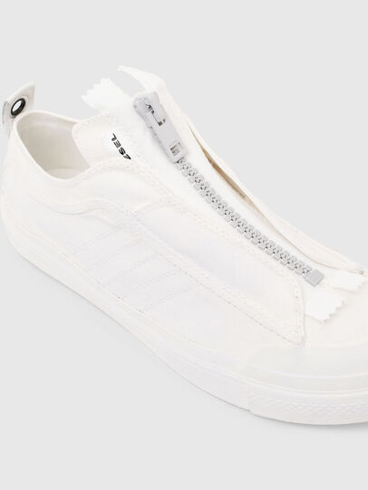 Diesel - S-ASTICO LOW ZIP SP, Blanco - Sneakers - Image 5