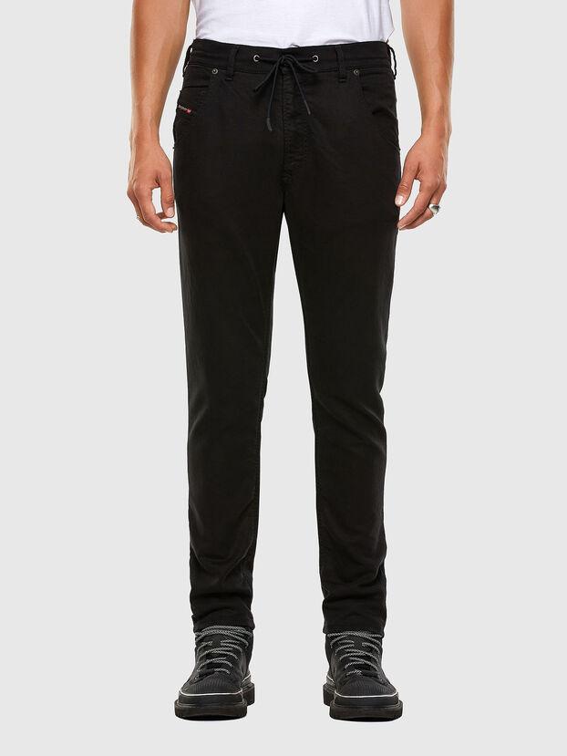 Krooley JoggJeans 069NC, Negro/Gris oscuro - Vaqueros