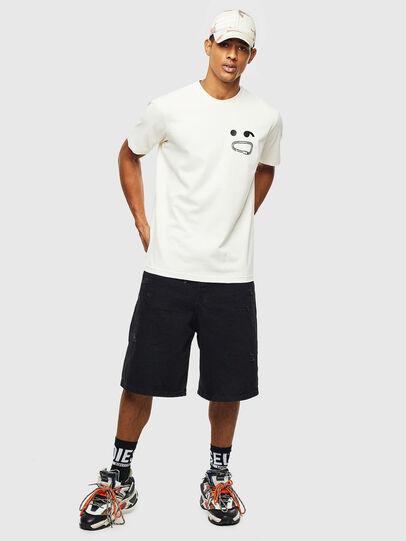 Diesel - T-JUST-T14, Blanco - Camisetas - Image 4