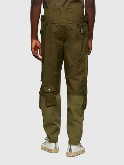 Diesel - P-CYAN, Verde Militar - Pantalones - Image 2