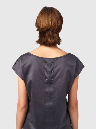Diesel - T-IMMERS-B1, Gris oscuro - Tops - Image 4