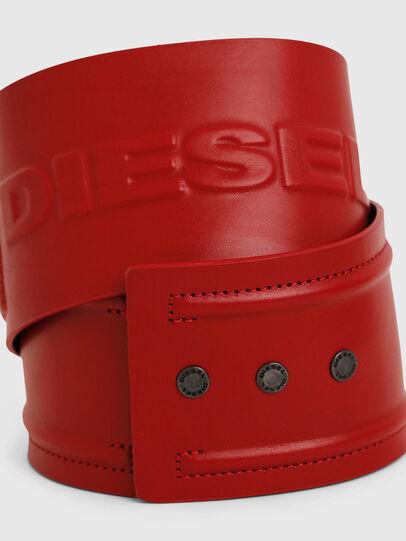 Diesel - B-INO, Rojo Fuego - Cinturones - Image 2