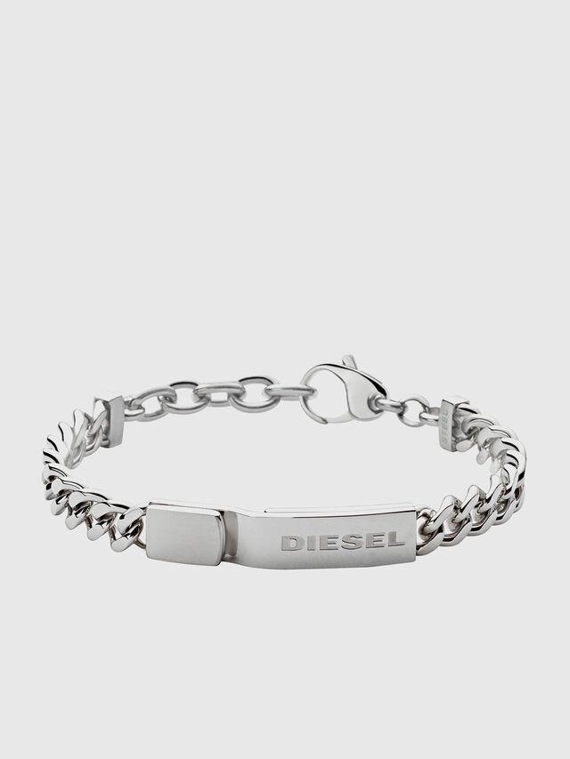 Diesel BRACELET DX0966, Plata - Pulseras - Image 1