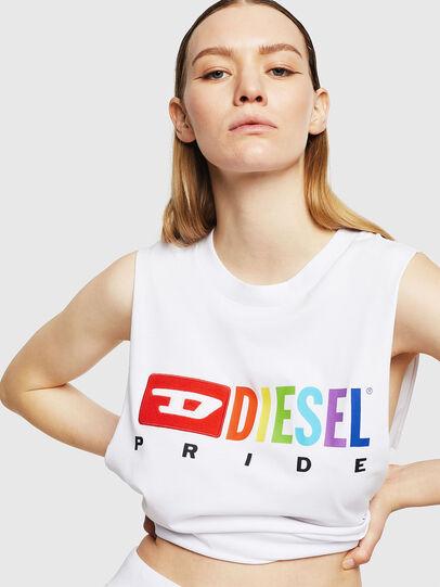 Diesel - UFTK-AVERY, Blanco - Tops - Image 3